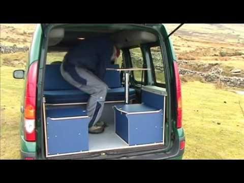 Amdro Jump Renault Kangoo Campervan Campervan Camper Van Conversion Diy Diy Campervan