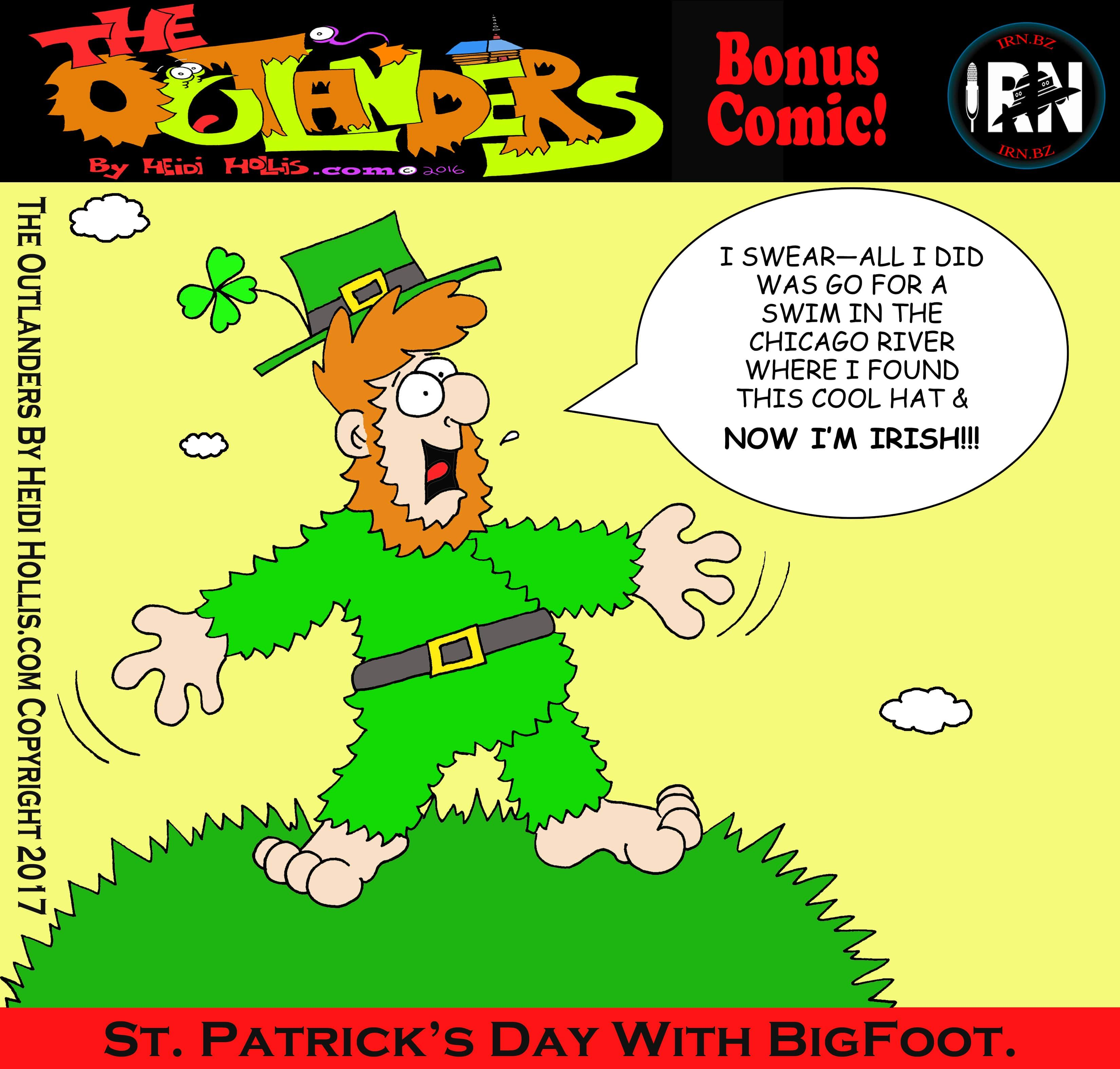 This Week On  |     The Outlanders: St. Patrick's Day Special