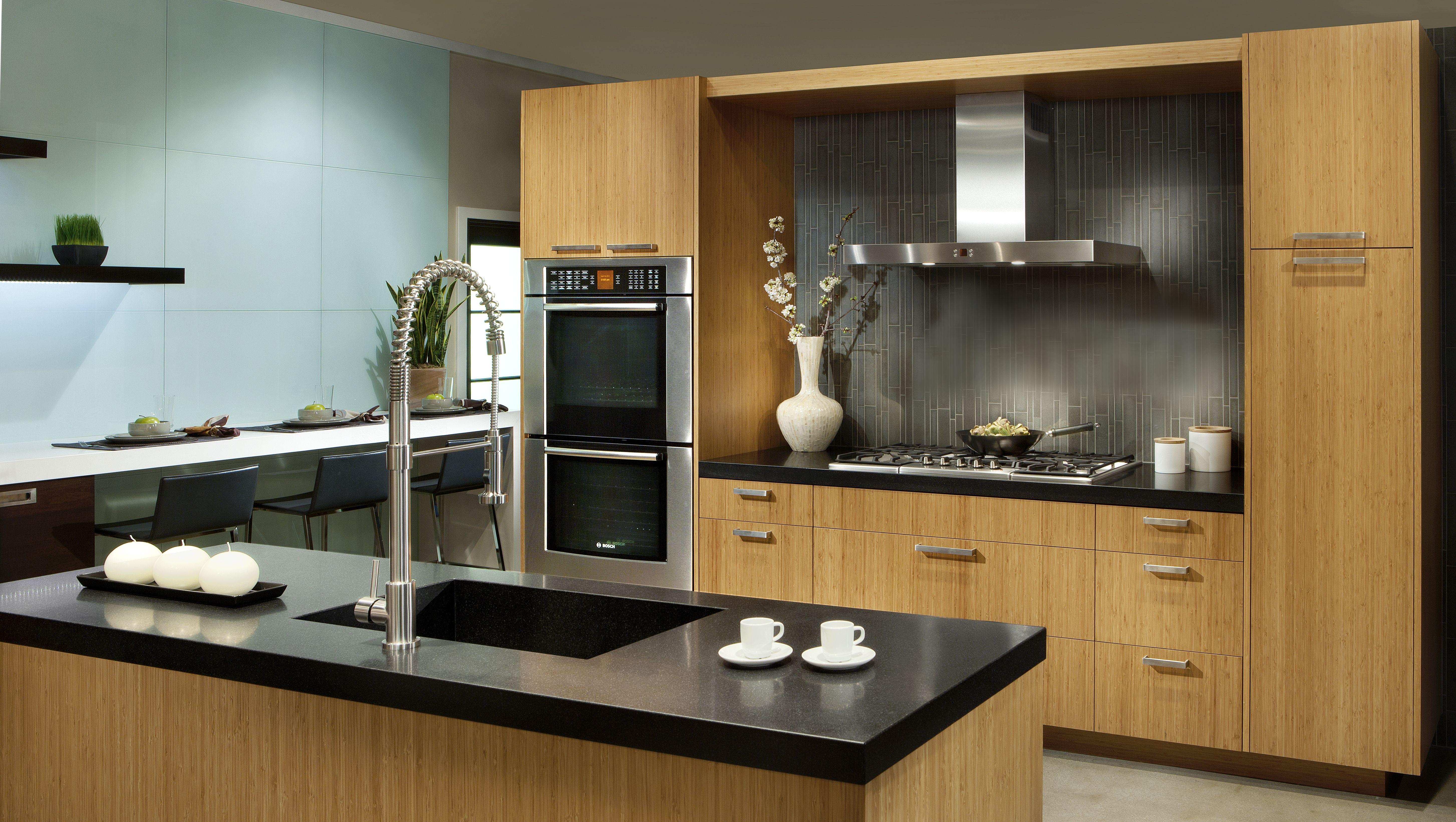 Taurus Horizontal Dewils Fine Cabinetry Kitchen Cabinets Bamboo Cabinets Kitchen