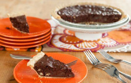 Southern Chocolate Pecan Pie (quiche style)