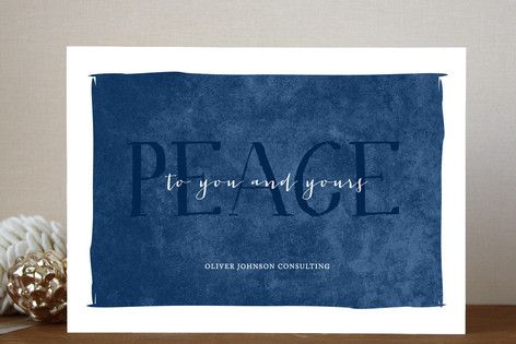 Holiday Cards Peace