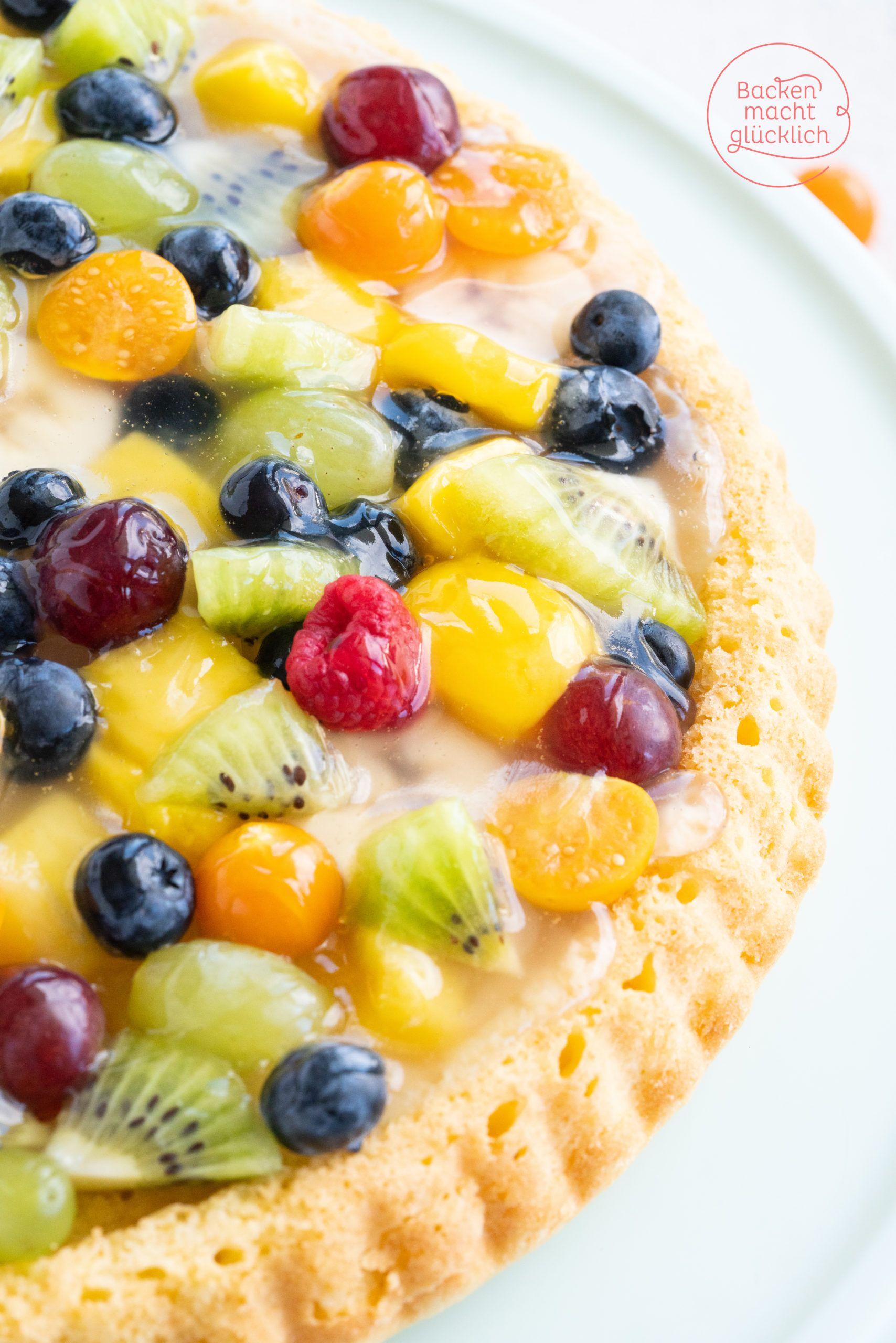 Einfacher Obstkuchen-Boden