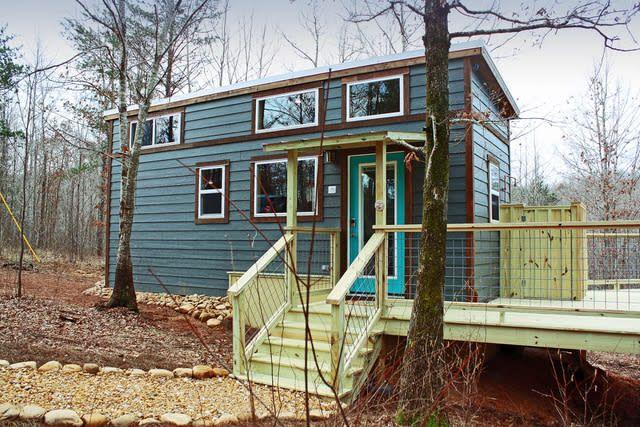 A Tiny House In A Tiny Community Outside Of Atlanta Tiny