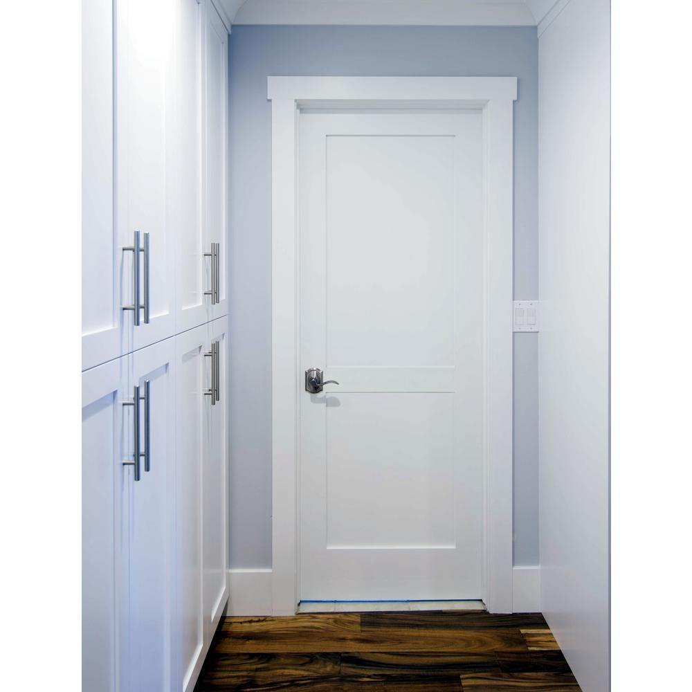 Krosswood Doors 30 In X 80 In Craftsman Shaker 2 Panel Primed