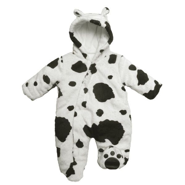 Funky Cow Print Baby Boy Girl Pram Suit All in One by Just Too Cute in Baby, Clothes, Shoes & Accessories, Boys' Clothing (0-24 Months)   eBay