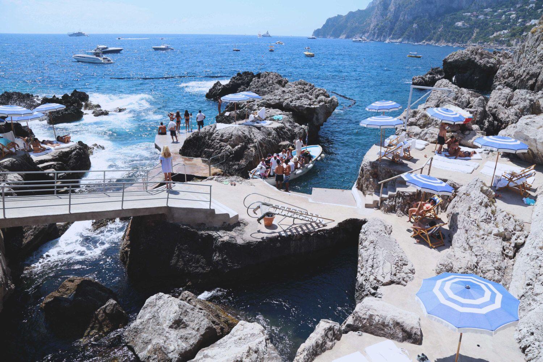 Marina Piccola - Aquabumps  |Capri Beach Scenes