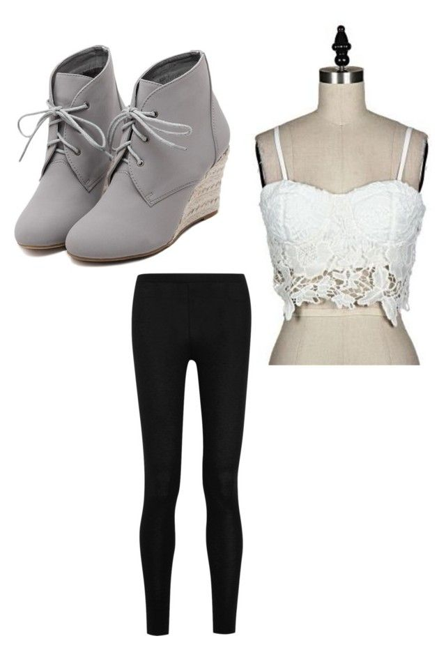 """""""casual"""" by alexa-barnes on Polyvore featuring Donna Karan, WithChic, women's clothing, women's fashion, women, female, woman, misses and juniors"""