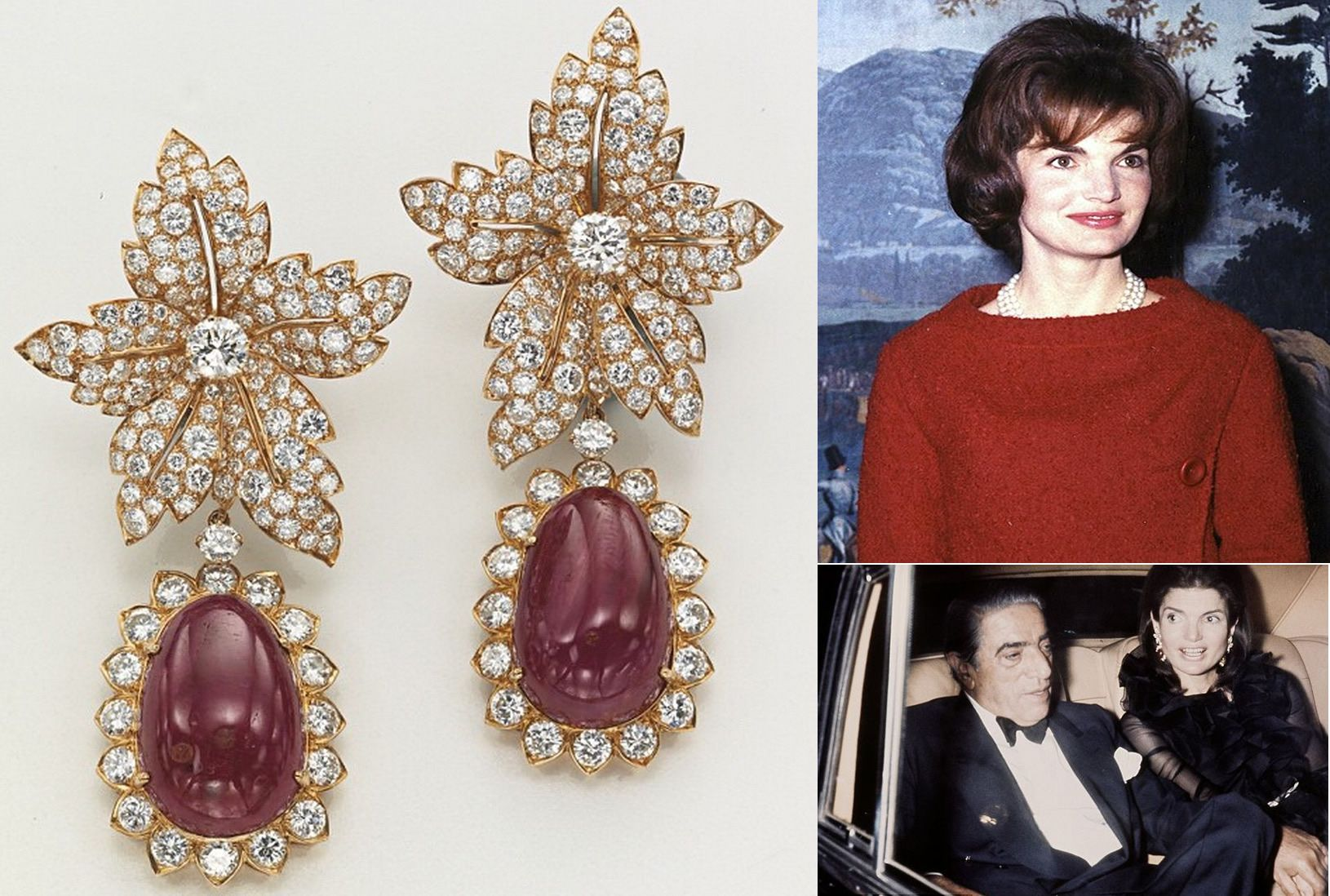 Christie S Auctions Jacqueline Kennedy Onassis Wedding Jewels