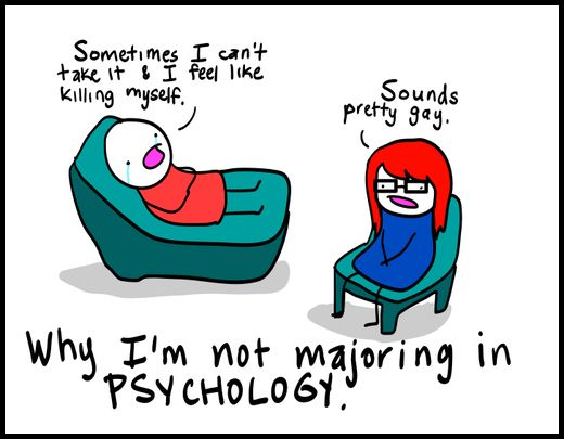 Perfect Iu0027m Pretty Sure All Psychologists Feel This Way Sometimes.