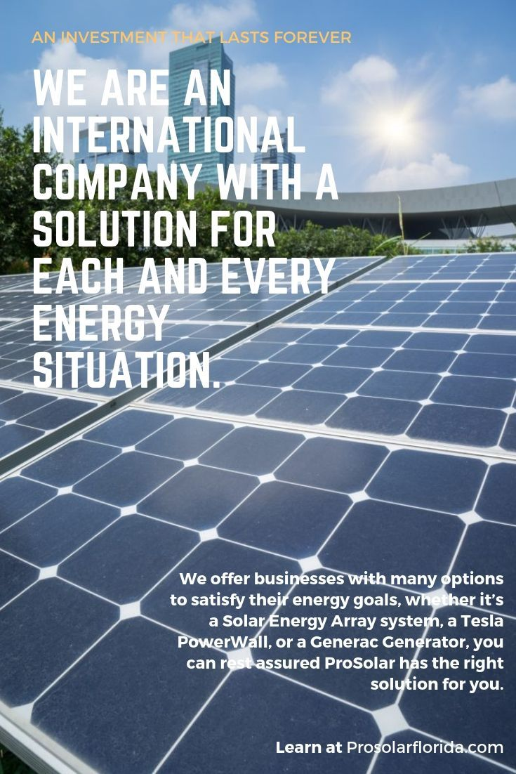 Pro Solar An Investment That Lasts Forever Solar Solar Energy Solar Energy Solutions