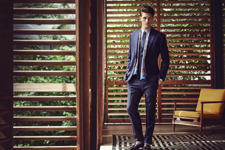 #HouseofFraser #SS16Logan Macrae shot by Diego Merino    #tailoring #suit #summer