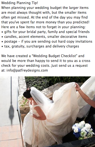 Wedding Budget Tips Here Are Some Items That Are Often Forgotten And Can Really Put You Over Budge Wedding Checklist Budget Free Wedding Budget Budget Wedding