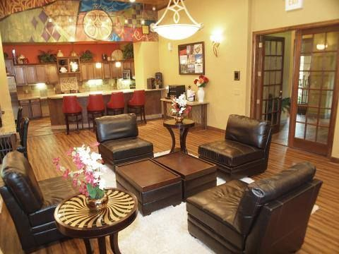 Lounging Area Inside The Clubhouse With Images Bedroom Floor Plans 3 Bedroom Floor Plan Apartments For Rent