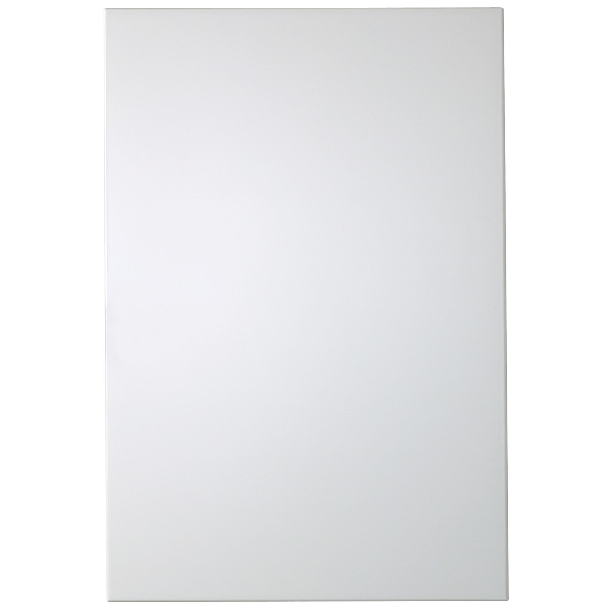 Best It Kitchens Santini Gloss White Slab Tall Standard Door W 400 x 300