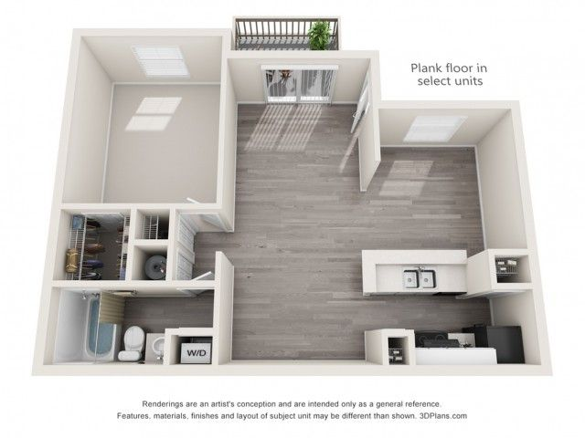 Echo 1 Bed 1 Bath Classic Plus 726 Sq Ft Sims House
