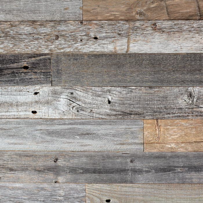 3 Quot Reclaimed Barnwood Peel And Stick Wall Paneling In 2019