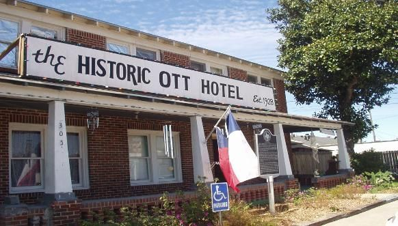 Primary View Of Object Led Cars Outside The Historic Ott Hotel Pinterest Texas And Park