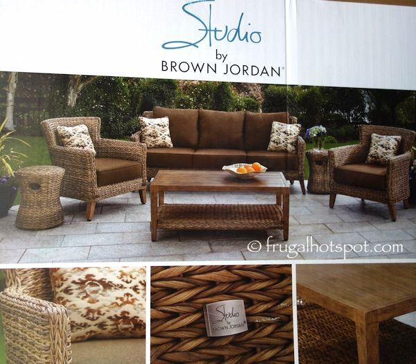 costco has the studio by brown jordan seating set in stock for a