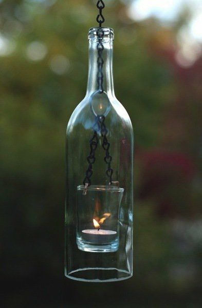 Ideas Llenas De Inspiraciã N Para Reciclar Cristal O Vidrio Botellas De Vidrio Lámparas Con Botellas Lámparas De Botellas De Vino