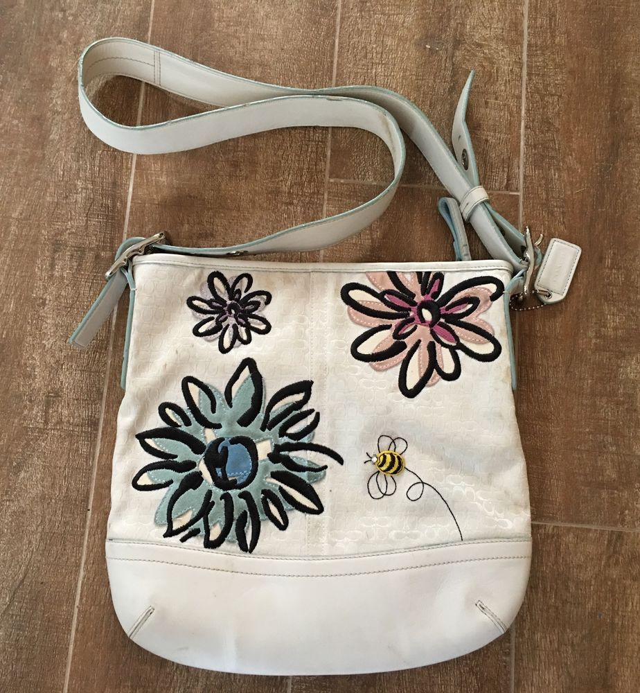 Pin By Songbird S Treasure On Coach New And Vintage White Bag