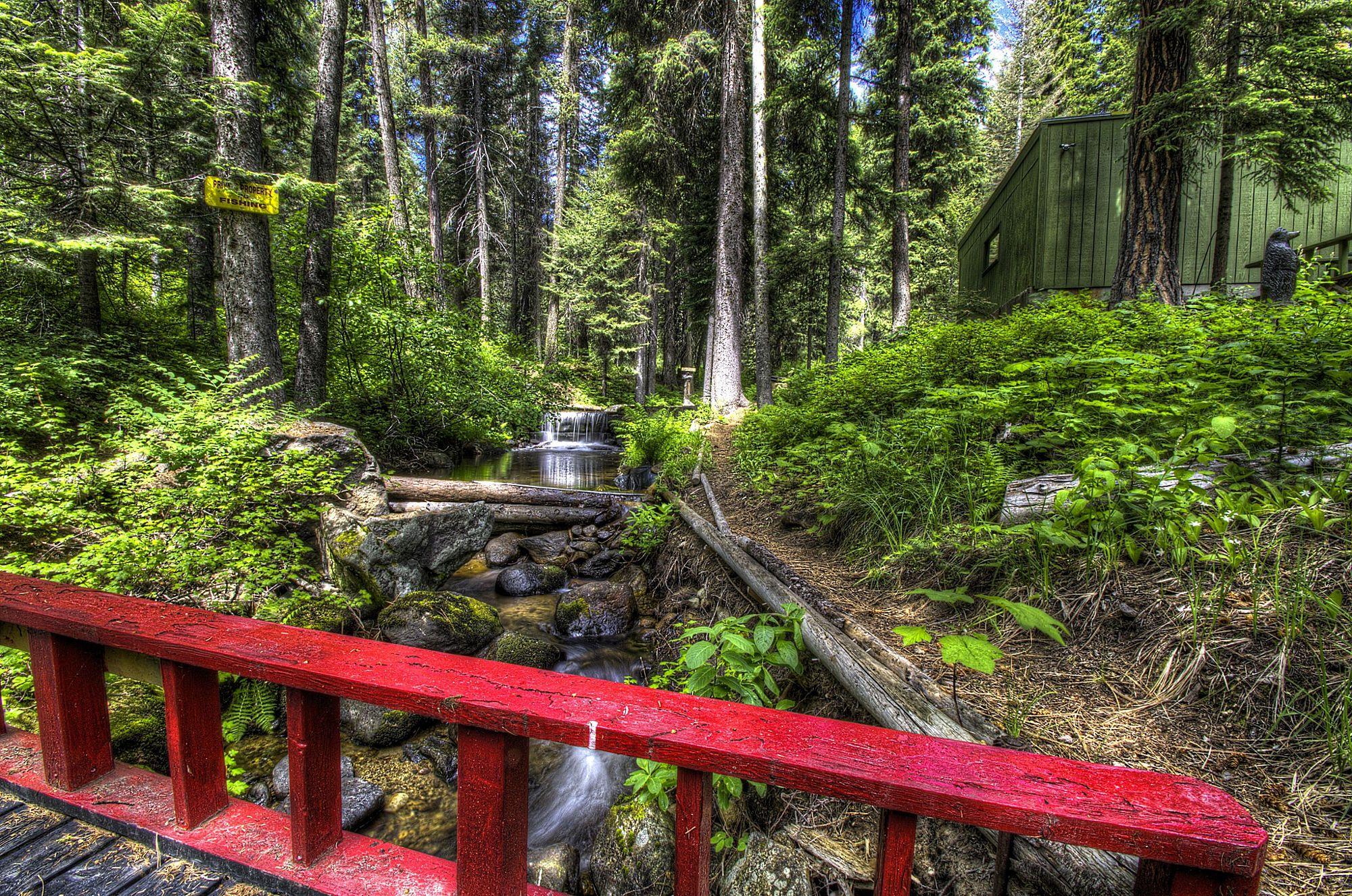 The Red Bridge By Mike Kerby Idaho Vacation Idaho Adventure