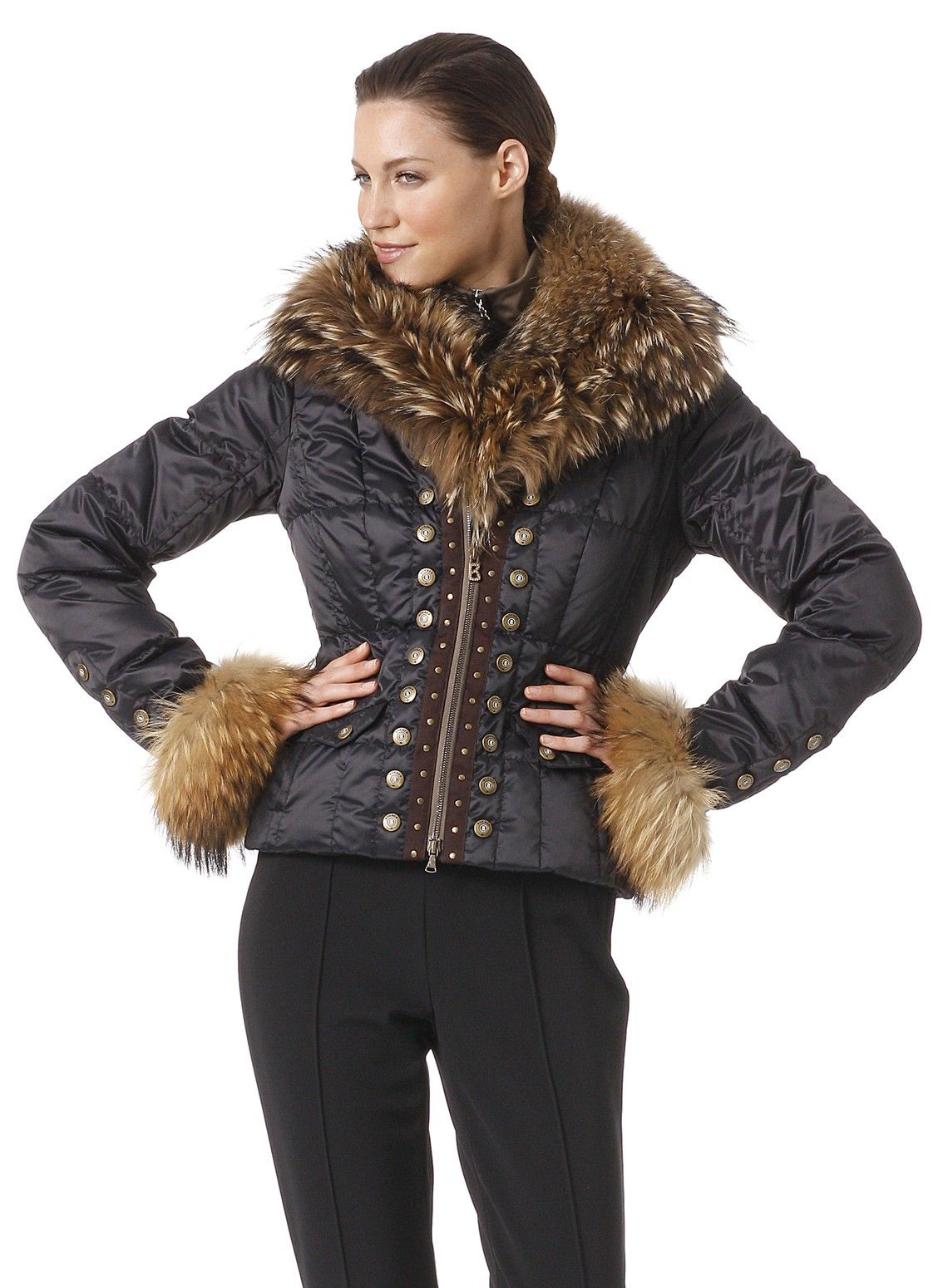 Luxury at it's best: Feel exclusive in Down Jacket Scara from ...
