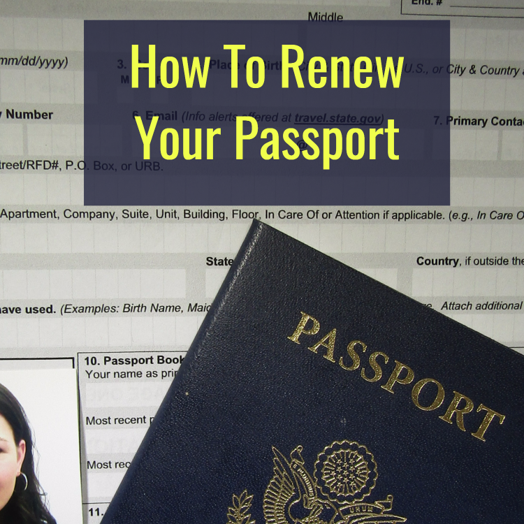 How To Renew Your Passport Renewing your passport