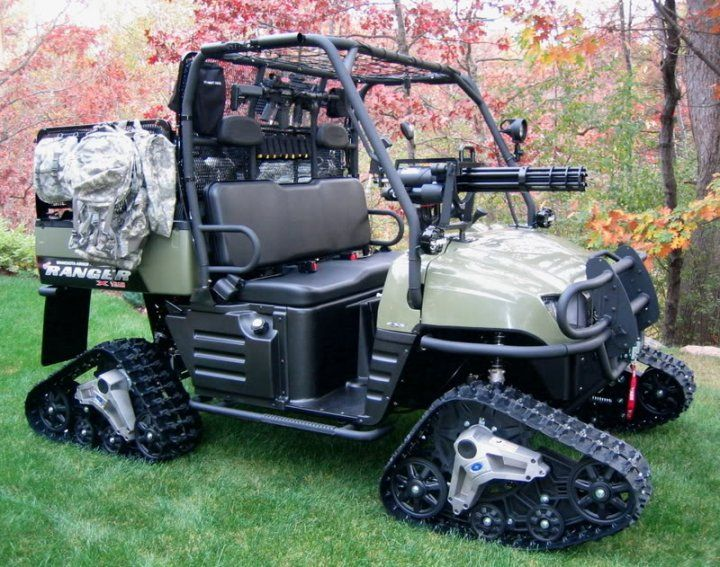 ATGC-Armed Tactical Golf Cart by !standardmissile   Zombie ...