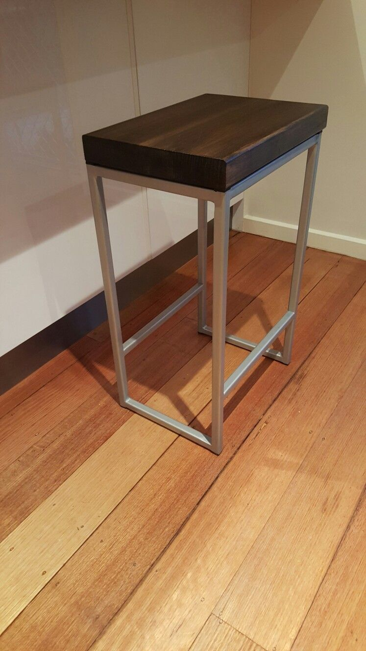 Steel industrial stool