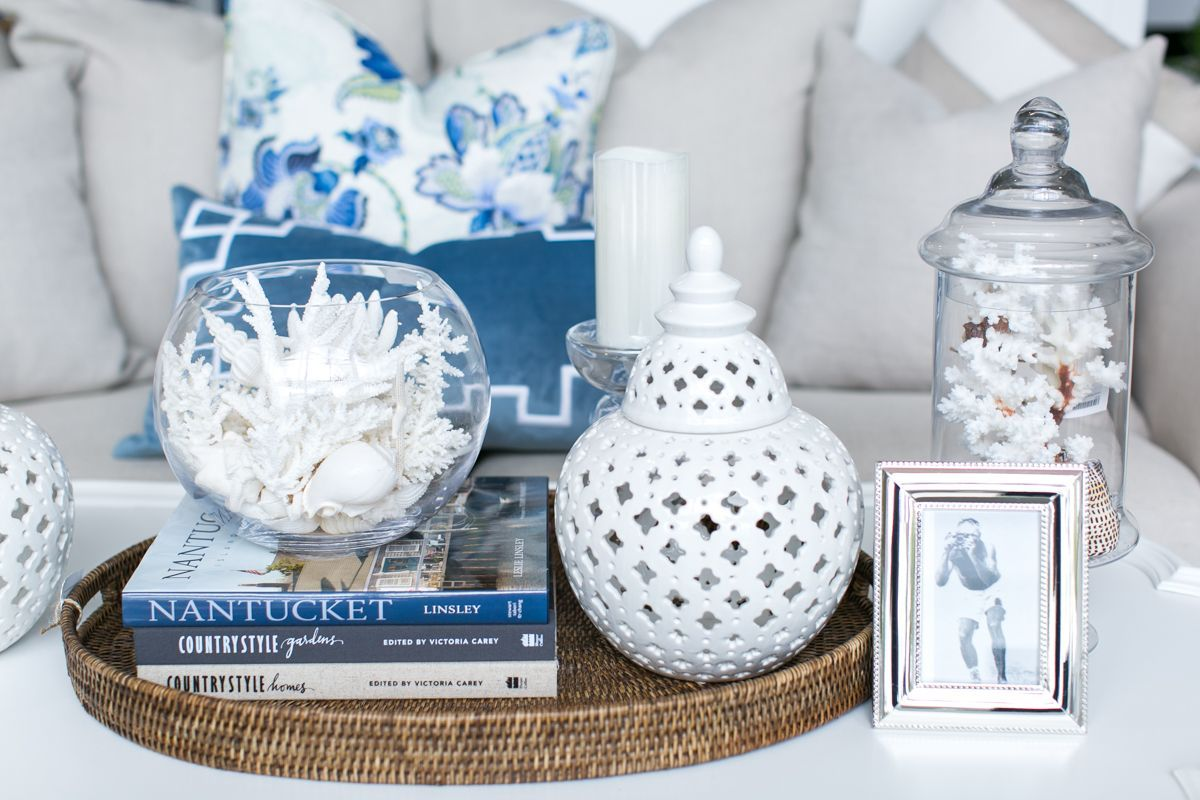 Coastal Style Decor Coffee Table Inspiration Wedding Favors