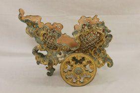 J. Fischer Budapest Reticulated Chariot Form Centerpiece