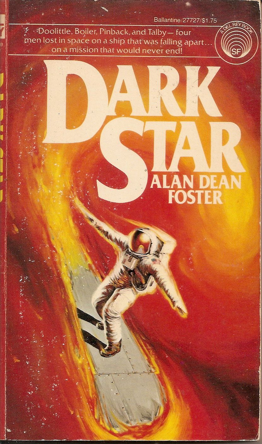 Dark Star Alan Dean Foster Cover By Michael Herring Fantasy Book Covers Science Fiction Illustration Sci Fi Books