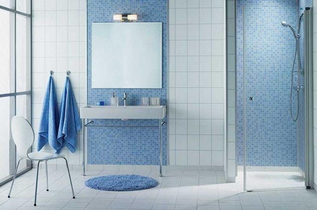 Carrelage salle de bains – 34 idées avec la belle mosaïque ...