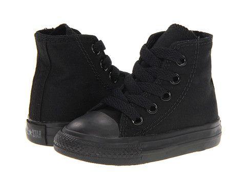 black high top converse kids