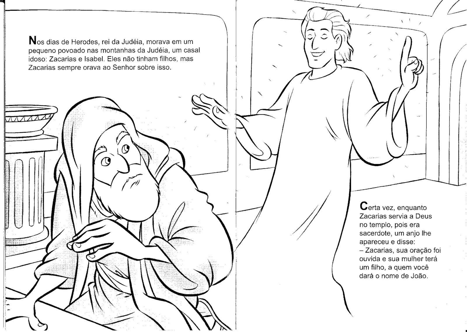 Pin De Joice Bruna Em Min Inf Ilustracoes Colorir Online Joao