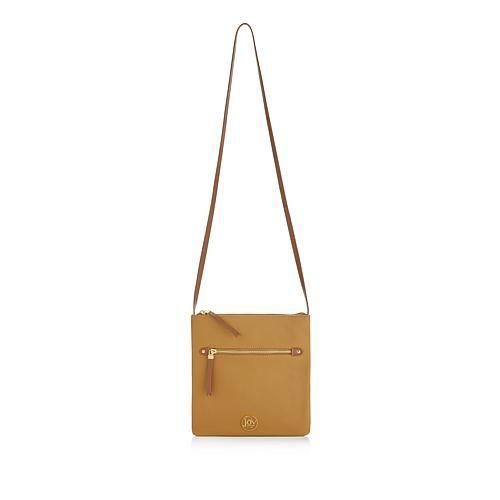 Joy Mangano JOY Luxe Genuine Leather Handbag, Chic Crossbody with Shopper  Tote - Purple d4541f68f3