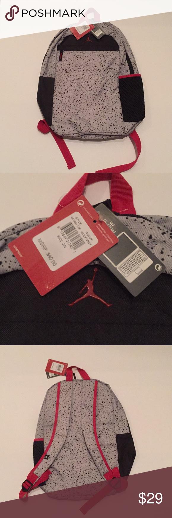 84e50c6eaa61db NEW Jordan Brand Backpack Brand new Jordan Brand Backpack! The tags are still  attached and read  40! Jordan Accessories Bags