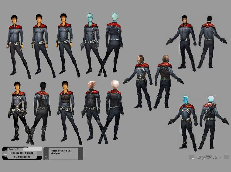 Star Trek Online Uniform Concept | Star Trek | Pinterest ...