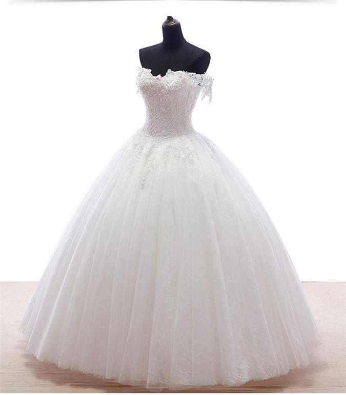 Prinzessin Stil Hochzeitskleider-www.persunkleid.de