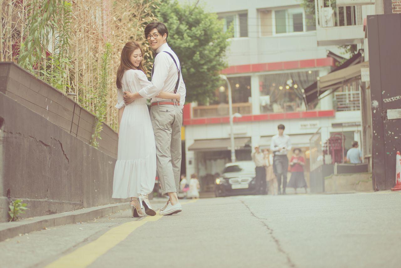Korea PreWedding Casual Dating Snaps, Seoul (With