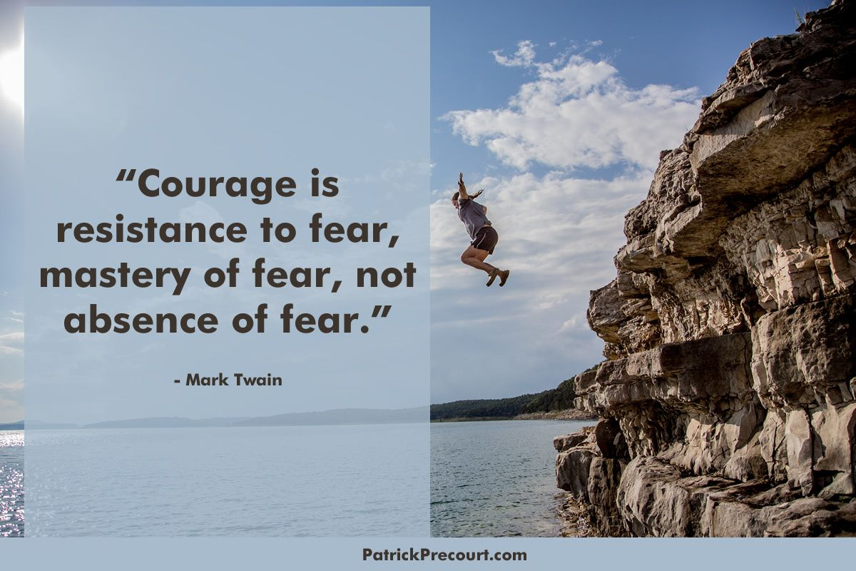 Be courageous this weekend.  Try something new, something you never thought you could do. #courage