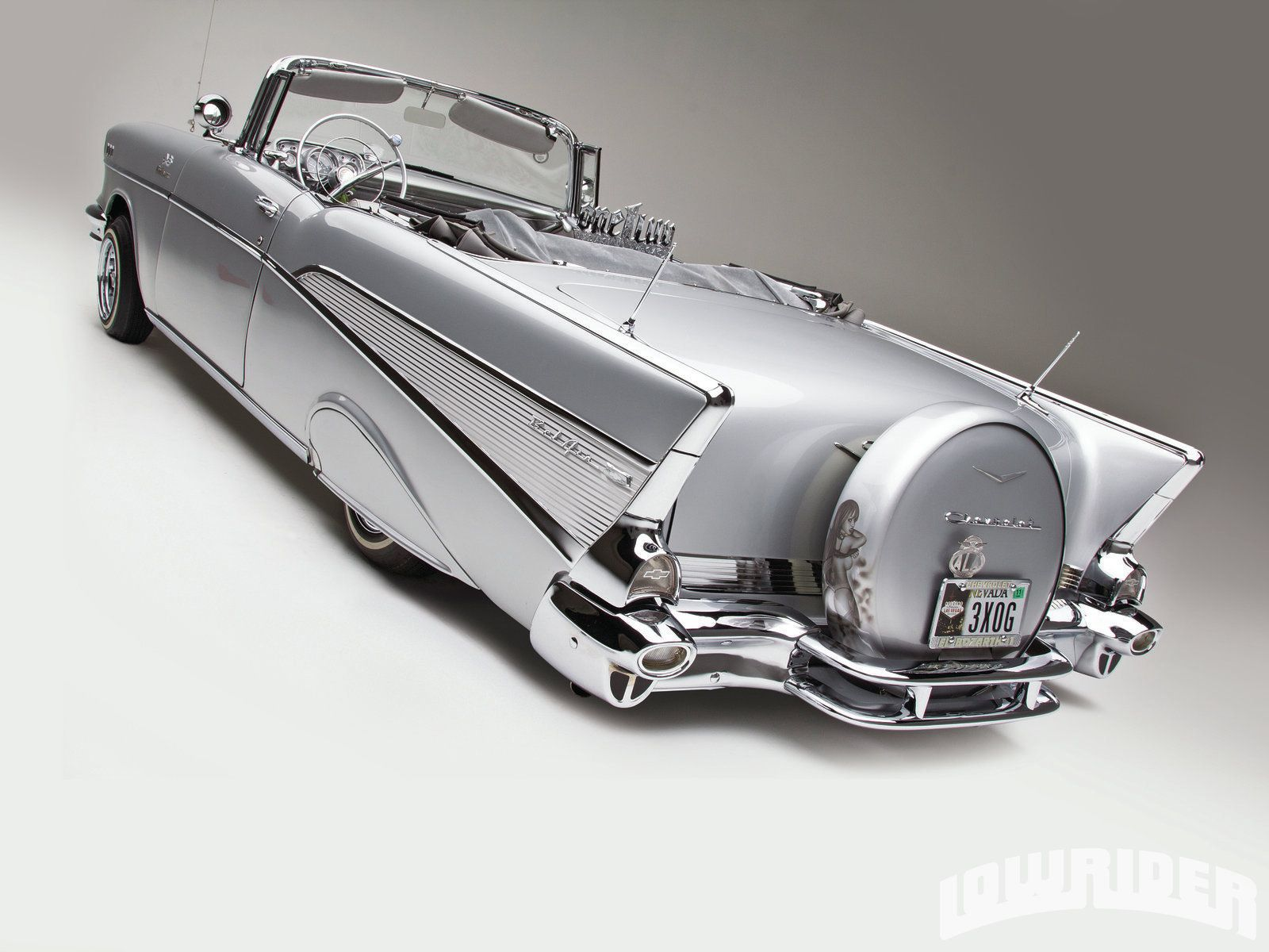 1957 Chevrolet Bel Air Lowrider Magazine Cars I Love
