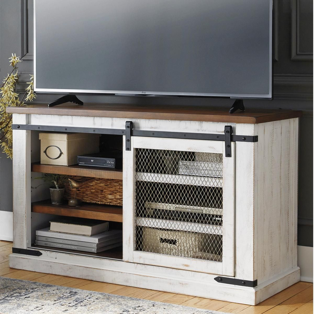 "Signature Design by Ashley Wystfield 50"" TV Stand in"