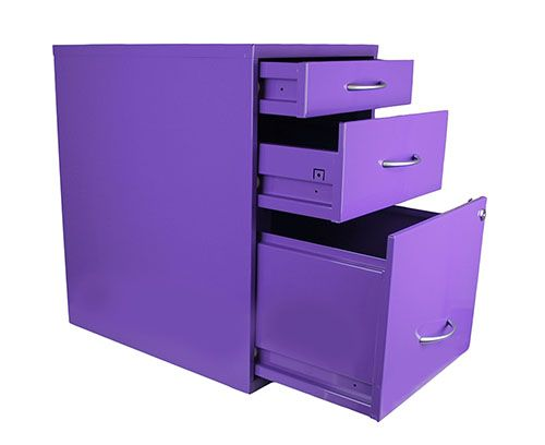 Purple File Cabinet Purple Office Decor Purple Office Purple Home Offices