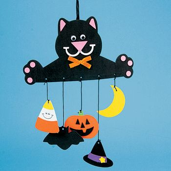 witch preschool craft | Easy Halloween Crafts For Preschoolers