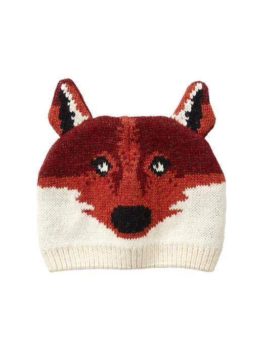 Intarsia Fox Hat Boys Clothes Sale Fox Sweater Fox Hat