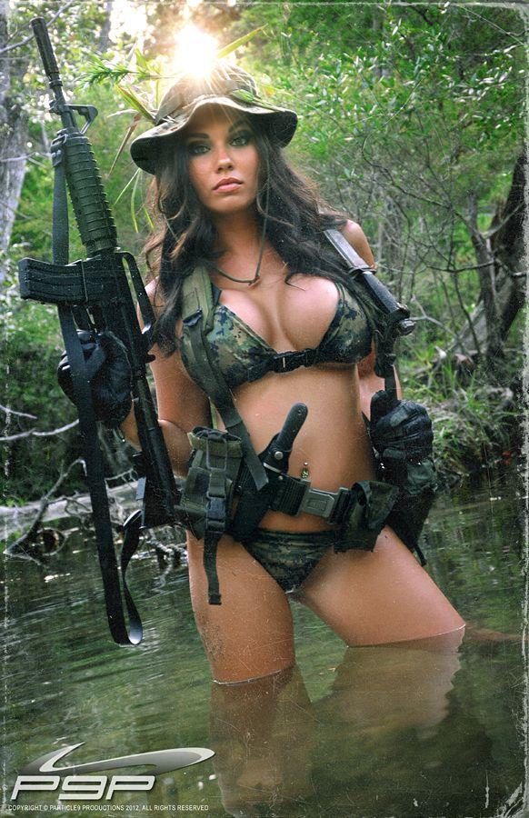 Сексуальные женщины военные 9