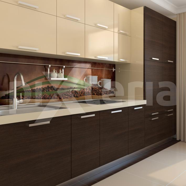 naklejka cienna kawa aran acje kuchenne pinterest k chen ideen moderne k che und modern. Black Bedroom Furniture Sets. Home Design Ideas