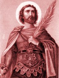 St. Victor of Marseilles was a Christian Martyr who is venerated as a saint in the Roman Catholic Church. He is said to have been a Roman army officer in Marseilles, who publicly denounced the worship of idols. For that, he was brought before the Roman prefects, Asterius and Eutychius, who later sent him to the Emperor Maximian. He was then racked, beaten, dragged through the streets, and thrown into prison and suffered martyrdom. #Catholic #Pray
