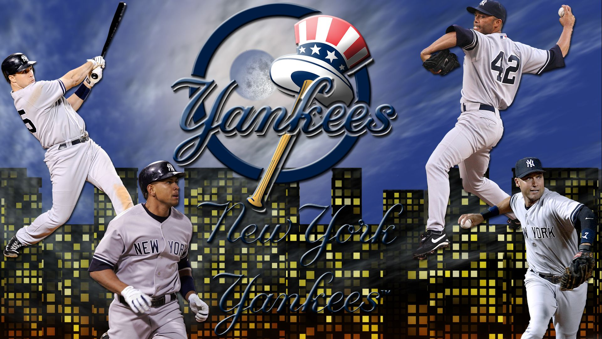 24 New York Yankees HD Wallpapers Backgrounds